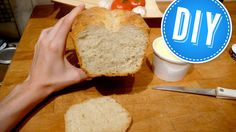 Easy, fast, foolproof no-knead bread from scratch.