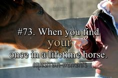 When you find your once in a lifetime horse. #horse #equestrian