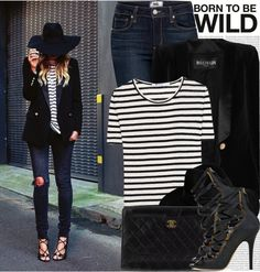 """1394. Street Style: Spain"" by chocolatepumma on Polyvore"
