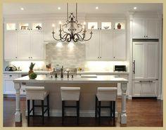 sherwin williams agreeable gray | Black and Bleu Designs: White Kitchens