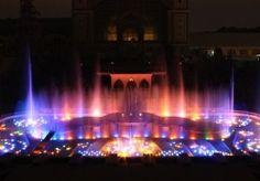 Krizik`s Musical Fountain, Prague Prague Czech Republic, Fountain, Musicals, Road Trip, Night, Travel, Viajes, Road Trips, Water Fountains