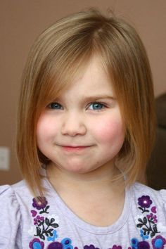Little Girls Shoulder Length Hair Cuts | Cute Little Girl Haircuts