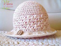 """""""Keď cítiť leto"""" - dámsky klobúčik"""