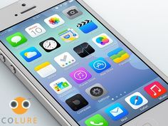 Apple's new iOS 7 for iPhone and iPad is the biggest redesign of the mobile operating system since iPhone was first introduced. Iphone 5c, Iphone Texts, New Iphone, Ios Apple, Apple Mac, Apple Iphone, Accessoires Ipad, Ipod, New Ios