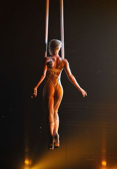 Pink, Alecia Moore at the Grammy music awards performances 2010, sing glitter.