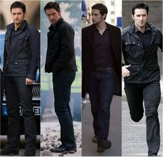 mezzmerizedbyrichard: Long shots of Richard Armitage/Lucas North ~ Spooks/MI-5.  Do I need to explain why?!