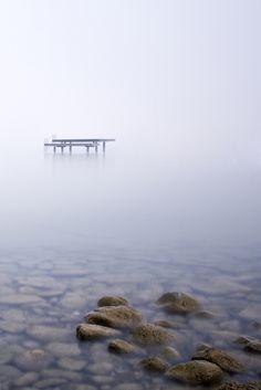 Altnau in the fog - Switzerland