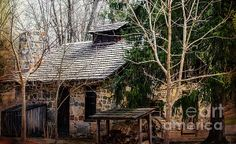GRIST MILL 2 PRINTS AND FRAMED ART FOR SALE JUDY WOLINSKY