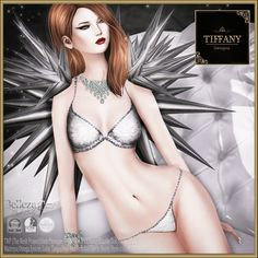 Lingerie TD Cleo with Appliers - silver v