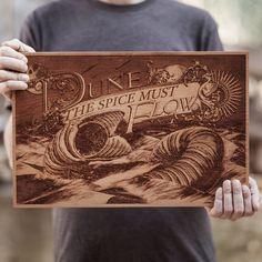 Beautiful Laser-Engraved Wooden Posters by SpaceWolf Ltd. - My Modern Met