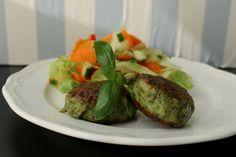… fyldt med krydderurter og spinat, de smager himmelsk og kan med en blender laves på ingen tid – hverdagsmad når det er bedst!