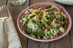 A Spring Couscous Salad from What's Gaby Cooking