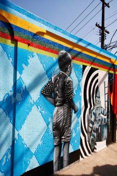 Eduardo Kobra- Mural Vila MAdalena - São Paulo, Brazil
