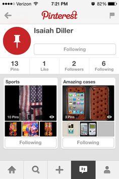 Follow @Isaiah Weddle Diller