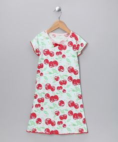 Take a look at this Cherry Pie Nightgown - Toddler & Girls by Charm'd on #zulily today!
