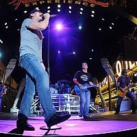 UFC and Fremont Street Experience presented a free concert by 3 Doors Down on July 4, 2012.