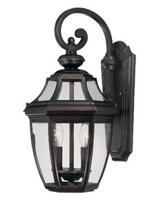 Savoy House Lighting 5-492-13 Endorado Collection 2-Light Outdoor Wall Mount Lantern, English Bronze Finish with Clear Glass by Savoy House. Save 26 Off!. $150.00. From the Manufacturer                The Savoy House 5-492-13 Endorado Collection 2-Light Outdoor Wall Mount Lantern combines versatility and functionality with an economical price.  Designed by a member of Savoy House's diverse family of artists, this outdoor lantern will welcome your guests with stylish grace and light your own…