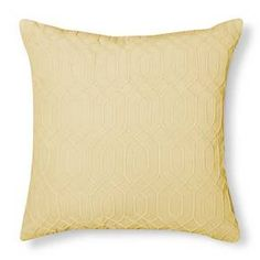 Velvet Decorative Pillow - Yellow – Threshold™ : Target