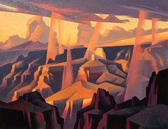 Ed Mell, Rain Spears, Grand Canyon