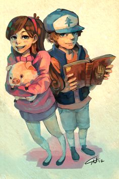 Mabel & Dipper http://25.media.tumblr.com/tumblr_mc2i6mt6Zi1qdoopto1_1280.png