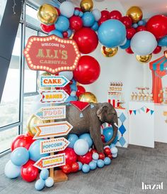 ALI TURNS TWO! Months of planning definitely paid off and we couldnt be happier with the result. Thank you for trusting in our… Dumbo Birthday Party, Circus First Birthday, Circus 1st Birthdays, Birthday Themes For Boys, Birthday Party Themes, First Birthdays, Birthday Ideas, Circus Carnival Party, Circus Theme Party