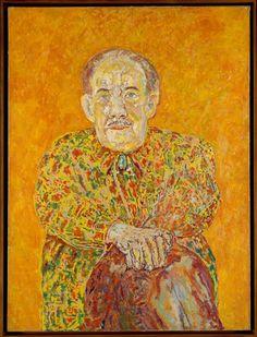 Portrait of Stanislas Rodanski by Beauford Delaney