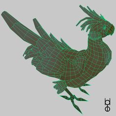 Chocobo - Wireframe