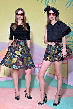 Christian Siriano Resort2016 | Siriano hit the perfect notes in his Resort 2016 collection. Colorful, fun and and supremely sophisticated at the same time |@ammaraza