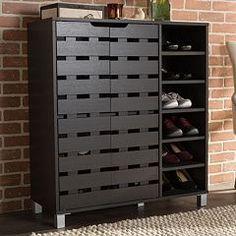 Baxton Studio Shirley Shoe Cabinet                                                                                                                                                                                 More