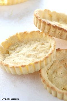 Almond Flour Pie Crust - My PCOS Kitchen - This delicious recipe is completely gluten-free, low carb and keto approved. It can also be made dairy free. This pie crust can be used for sweet or savoury dishes.