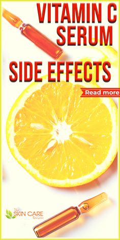 You should be aware of the side effects of Vitamin C Serum, here is a list of some side effects. Read more about Vitamin C serum at theskincarereviews.com. #vitamincserum #acne Vitamin A Acne, Vitamin C Serum, Cystic Acne Treatment, Back Acne Treatment, Best Acne Products, Skin Products, Skin Care Remedies, Acne Remedies, Clear Skin Tips
