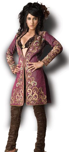 fashionable unmarried upper class woman's outfit -south-