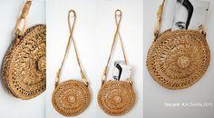 something for summertime ;-)  #nadszal #szegeditorella #gyekeny #craft #rush  #ecodesign #handbag #designerbag #ecobag Some Words, Straw Bag, Summertime, Eco Friendly, Artist, Crafts, Bags, Design, Handbags