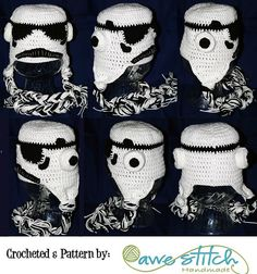 Ravelry: Stormy Troopers pattern by Awe Stitch