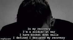 I'm a soldier at war. James Arthur - Recovery