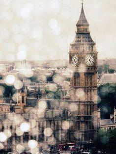 UK. Rainy day