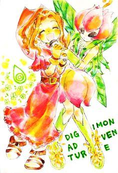 Mimi and Lilymon