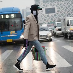 Seoul Fashion Week Street Style from @pause_online by @onmetvetements