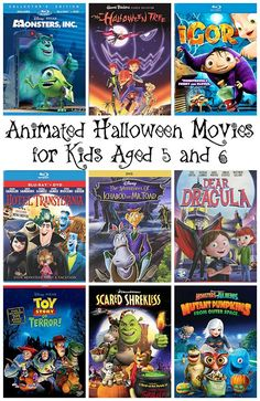 BEST list of Halloween movies for kids   ♥ Favorite Finds ...