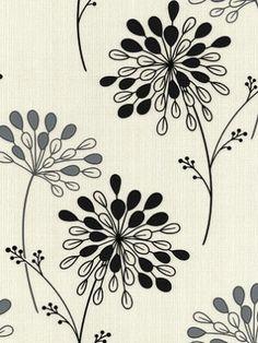 DecoratorsBest - Detail1 - GB 20-212 - Burst - Black & White wallpaper - Wallpaper - DecoratorsBest