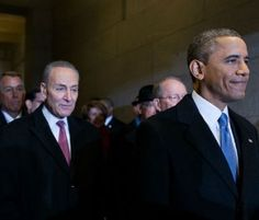 Senator Schumer, and avid supporter of the Obama Administration, may have a dilemna