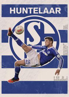 The Huntelaar/Schalke 04 poster #soccer