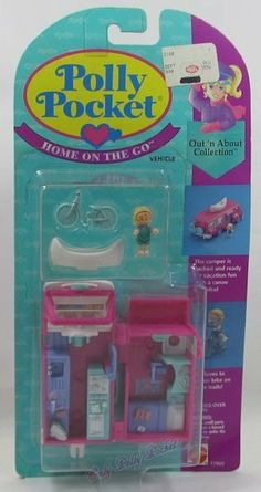 Polly Pocket Home On The Go Mattel Dolls, Doll Toys, Childhood Toys, Childhood Memories, Polly Pocket World, Mcdonalds Toys, Toys Land, 90s Girl, 90s Toys