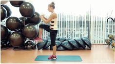 Kolejne ćwiczenia na pupę i nogi - ciężkie, ale bez obciążenia