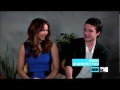 MTV rough cut Jennifer Lawrence and Josh Hutcherson Interview :)