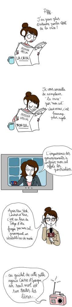 La crise - Pénélope Bagieu
