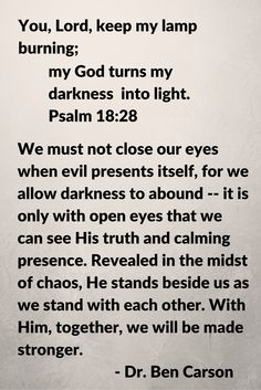 Dr. Ben Carson's prayer after the Paris terrorist attack.