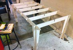 CNC Press-Fit Workbench by Aaron Kettl, via Behance