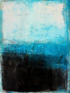 Bild_989_black_white_cube_on_blue_30_40_cm_acrylic_paper_2013_02 | by ART_HETART