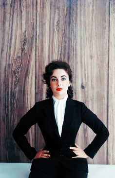 Elizabeth Taylor by Mark Shaw, 1956
